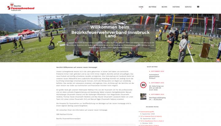Neue Website für den Bezirksverband