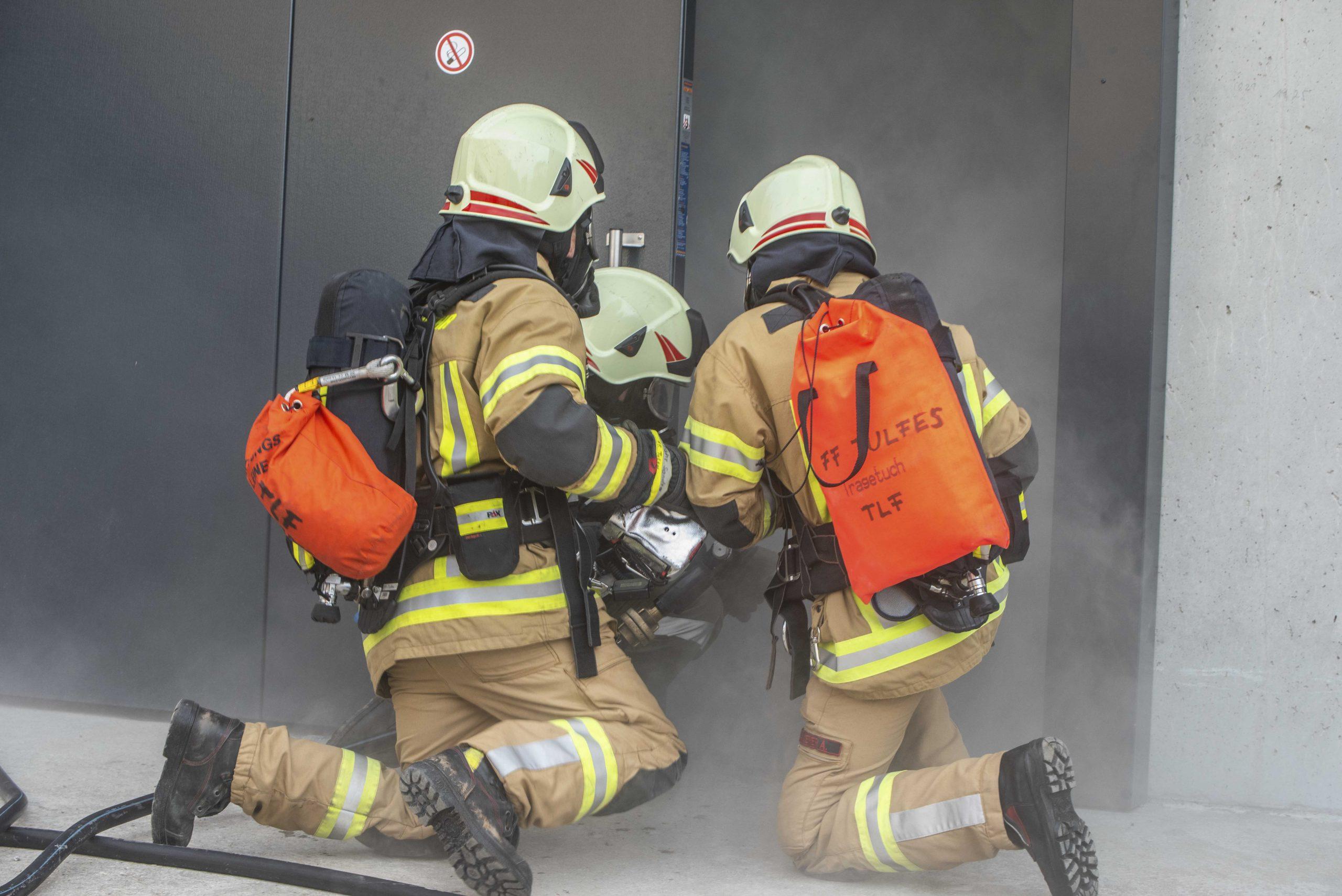 Schulung Atemschutz und Wasserdienst