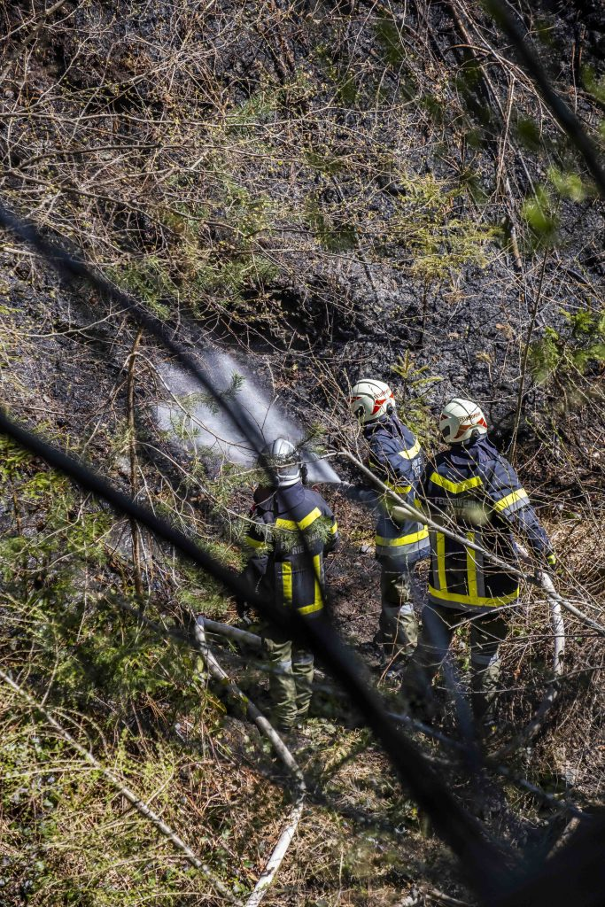 Waldbrand Pfaffenhofen 4
