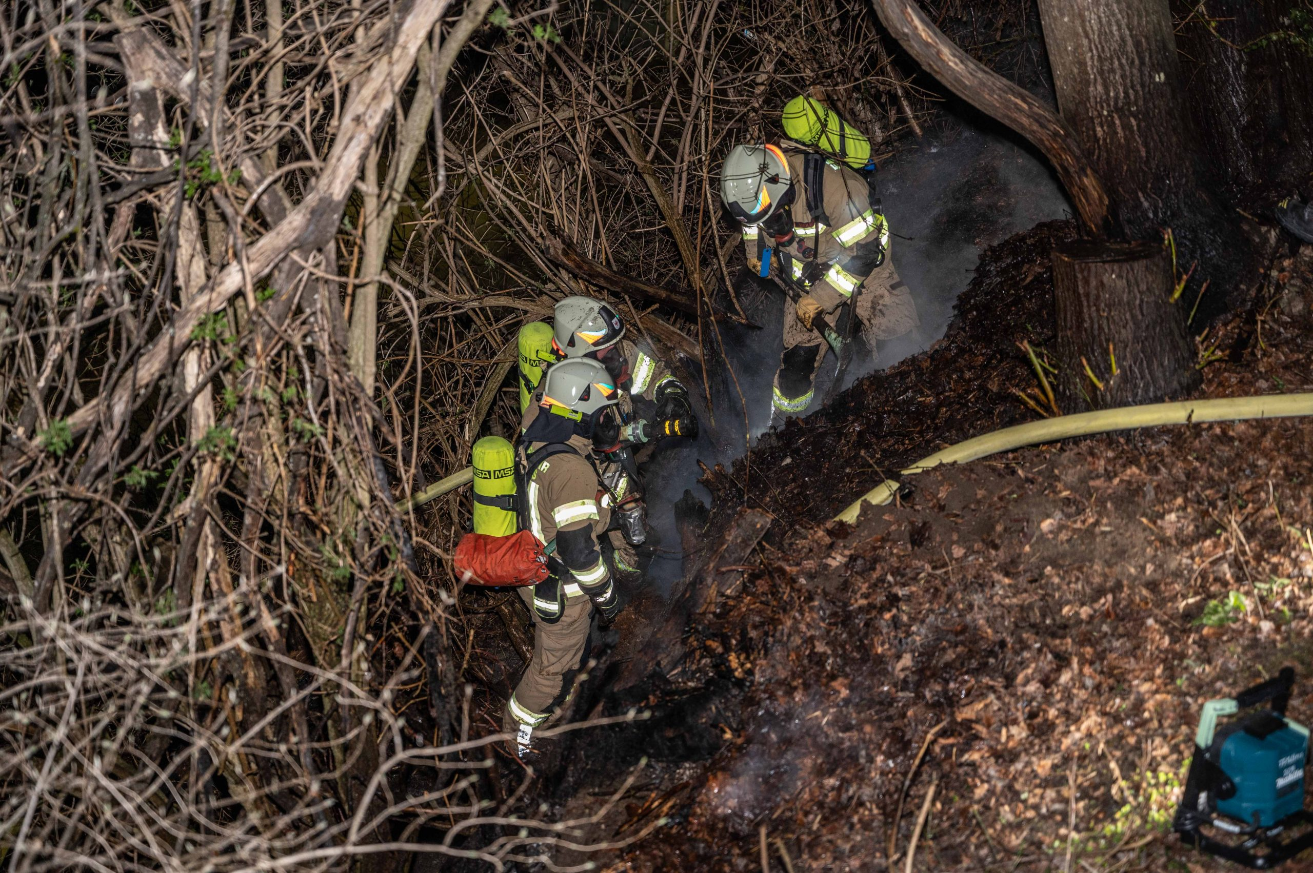 Waldbrand in Mutters