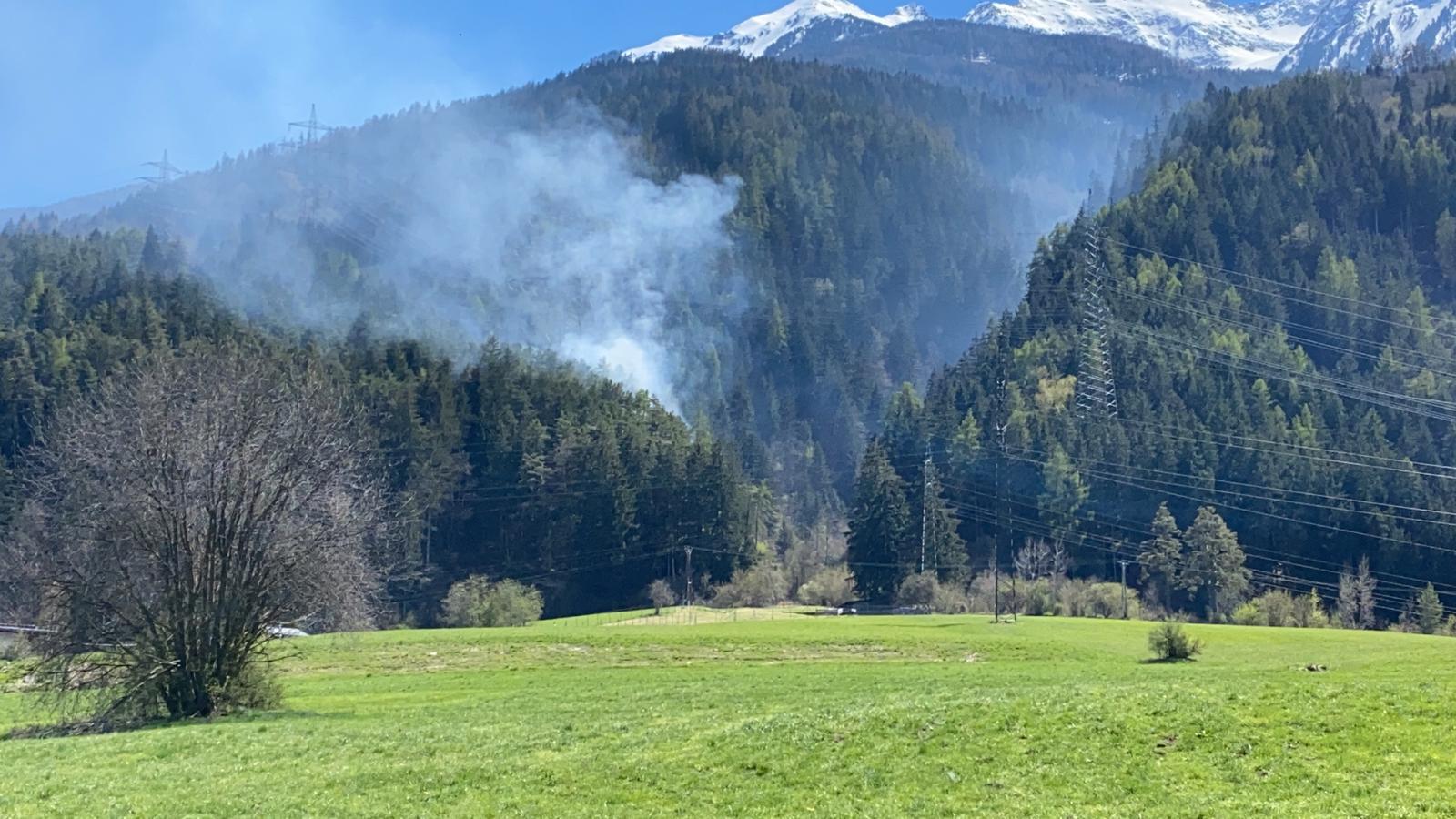 Waldbrand in Pfaffenhofen