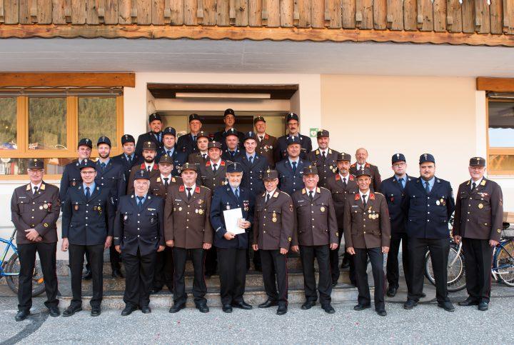 Feierstunde bei der Feuerwehr Mittenwald