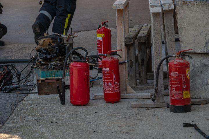 Feuerlöscher verhindern schlimmeres